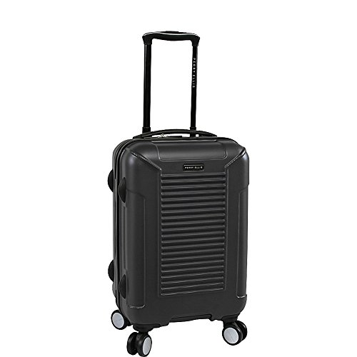 Perry Ellis Nova Hardside Spinner Carry on Luggage, Black