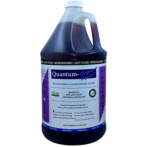 (Quantum Growth Organic Light Plant and Soil Microbes Beneficial Bacteria Probiotics)