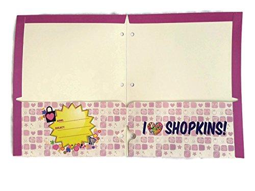 Shopkins Bundle of 4 School Portfolio Folders (2-Pocket) by Shopkins (Image #3)