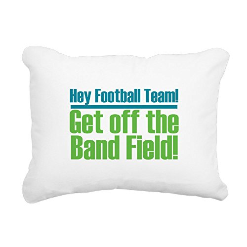 Band Pillow (CafePress - Marching Band Field - 12