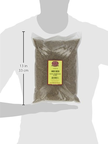 Spicy World Anise Seeds Bulk, 5-Pounds by Spicy World (Image #1)