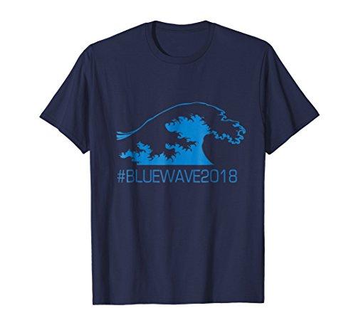 BLUE WAVE 2018 Political Democrat Anti-Trump Vote Gift Shirt