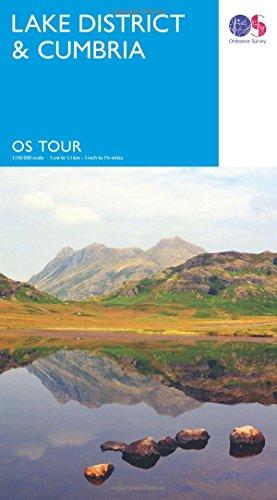 Lake District & Cumbria (OS Tour Map) 1:110K