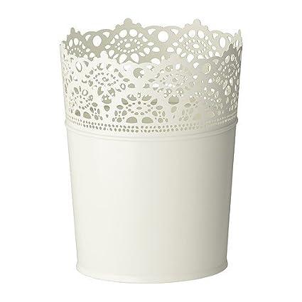 Skurar Ikea Vaso Per Piante Colore Bianco 1 5 Cm