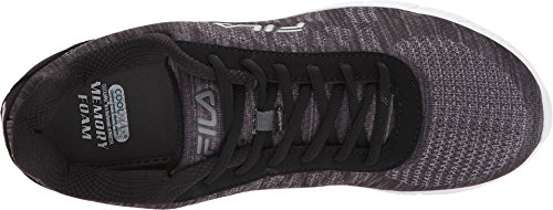 Fila Track Memory Mens Shadow Knit Black Silver Dark Dark q67Cxqw