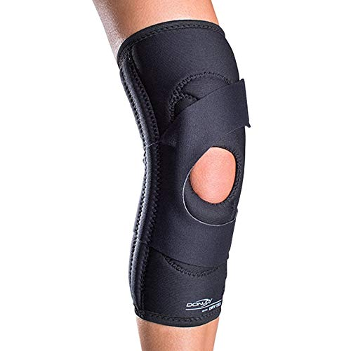 (DonJoy Lateral J Patella Knee Support Brace Without Hinge: Drytex, Right Leg, Small)