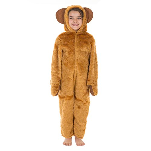 [Bear Costume for Kids 10-12 Yrs] (Yogi Bear Halloween Costume)