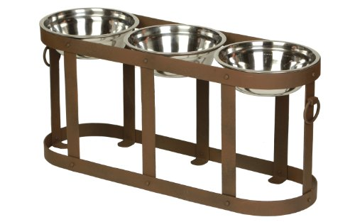 Feeder Table (Unleashed Life Tripoli Table for Pets,)