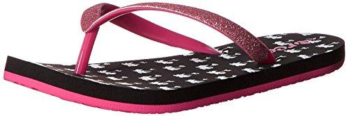 Reef Little Stargazer Prints - Zapatos de primeros pasos Bebé-Niños Varios colores (Black Palms)
