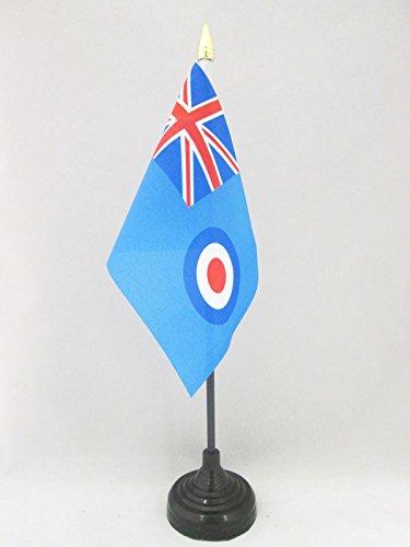 AZ FLAG Bandera de Mesa de la Real Fuerza AÉREA BRITANICA 15x10cm ...