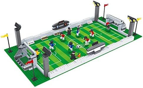 SU Niño Futbol de Mesa Bloque de construcción Juguete Insertar ...