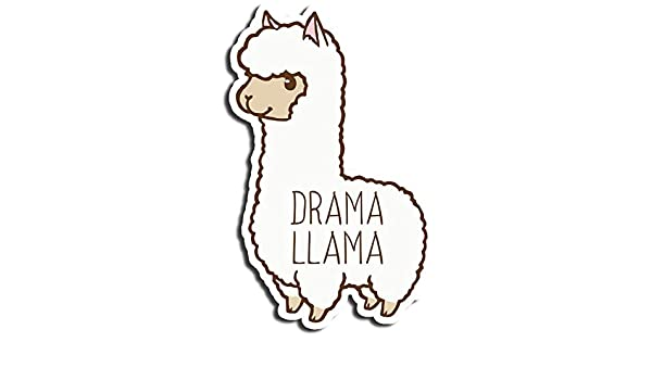 Amazon com: Drama Llama Sticker Cute Stickers Waterbottle