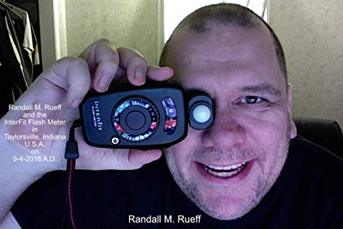 Meter Interfit Flash - Randall M. Rueff and the InterFit Flash Meter in Taylorsville, Indiana U.S.A. on 9-4-2018 A.D.