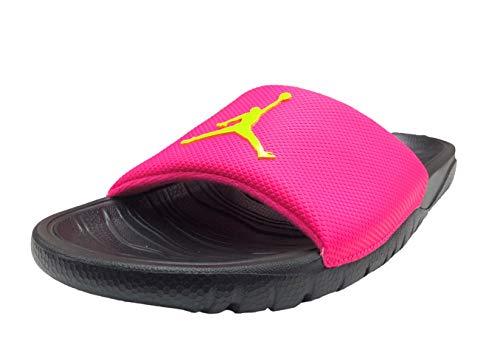 Jordan Break Slide Sandal (11 D(M) US, Hyper Pink/Cyber-Black) (Pink Jordans)