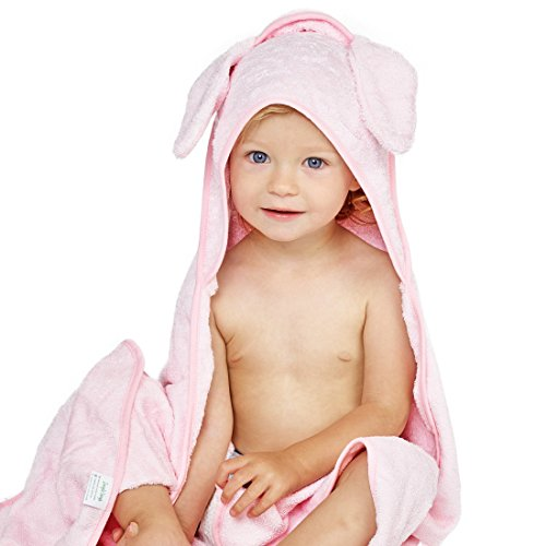 Luxury Hooded Baby Towel and Washcloth Set  | Extra Soft