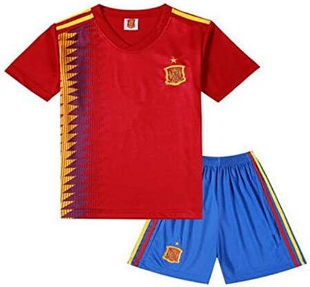 shi1 8sport Camiseta España – Balón de fútbol Infantil Ropa Traje ...