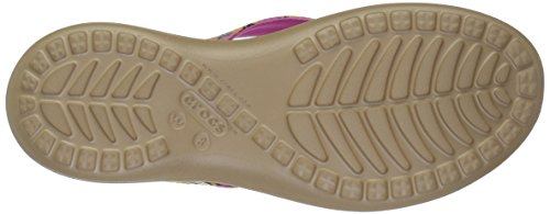 Flip Women's V Sequin Crocs Flop Capri W Gold Graphic xRwvIdYqIS