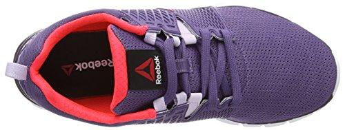 ReebokZquick Dash - Zapatillas de correr mujer Violeta - Violett (Prpl Slate/Lilac Ice/Ryl Orchd/Neon Chry/Wht)