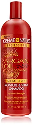 Creme Of Nature Argan Oil Sulfate-Free Moisture and Shine Shampoo