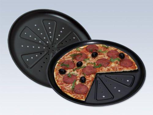 CHG 28 cm Pizza Backblech Pizzaboden Pizzablech Pizzaform Pizzaofen beschichtet