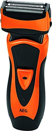 AEG HR 5626 - Afeitadora eléctrica, color negro y naranja AEG-HR5626O