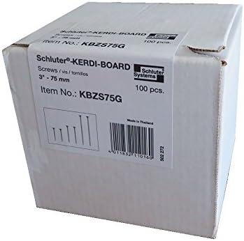 1-5//8 Length Schluter KERDI-BOARD-ZS Quantity: 200 Wood Framing Screw