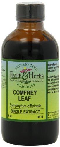 Santé Alternative et fines herbes remèdes consoude Leaf, 4-once bouteille