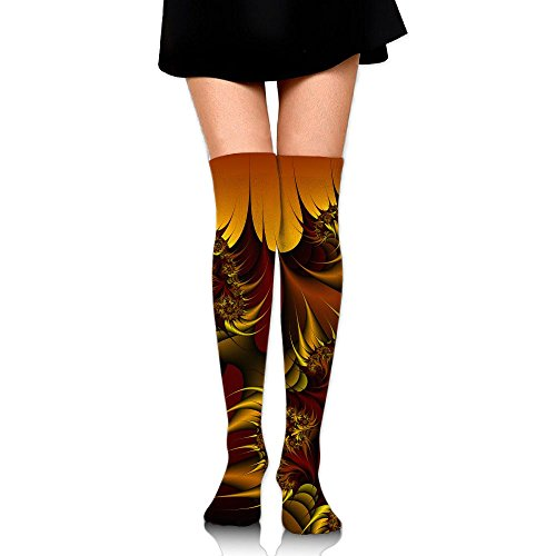 Brain Thinking Over The Knee Long Socks Tube Thigh-High Sock Stockings For Girls & - Wash Mr Brain