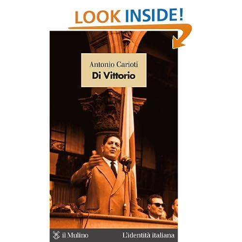 Di Vittorio (Italian Edition) Antonio Carioti