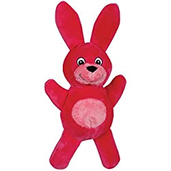 Smart Pet Love - Tender-Tuffs - Comfort - Tough Dog Toy - Proprietary TearBlok Technology - Pink Rabbit