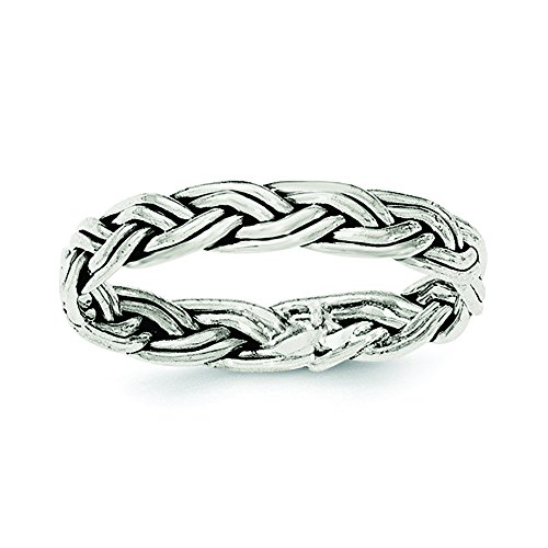 .925 Sterling Silver Horizontal Tiny Freeform Cross -