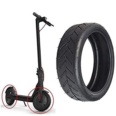"""8.5\"""" Replacement Pneumatic Tire for Electric Scooter Xiaomi Mi m365 and gotrax gxl V2, 8.5 inches Scooter Wheel\'s Replacement Pneumatic Tire for Xiaomi Mijia M365 / GOTRAX GXL V2 - One Piece : Sports & Outdoors [5Bkhe1202544]"""