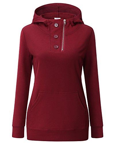 zipper detail sweater - 8