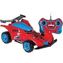 Spider Machine 3 Funções Spiderman Candide Vermelho/Azul