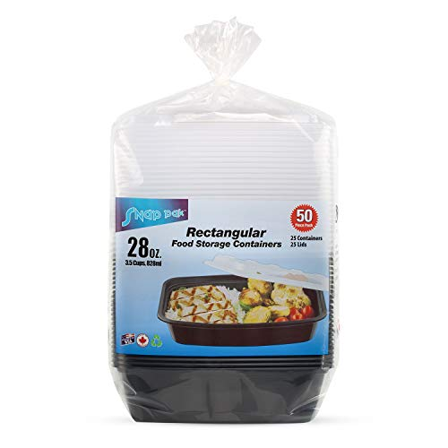 Snap Pak Food Storage Container (28oz., 50ct.) pack of 2