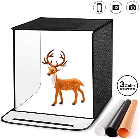 TYCKA - Caja para Estudio fotográfico, 40 x 40 x 40 cm, Plegable ...