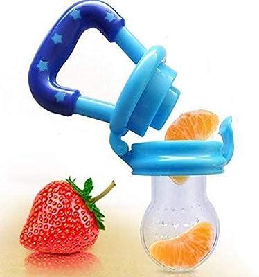 Demarkt Silicona Segura Beb/é Infante Alimentador de Alimentos Chupete Fresco Comida Leche Nibbler Alimentador Botellas para Beb/és Tetina de Herramienta de Alimentaci/ón 2PCS