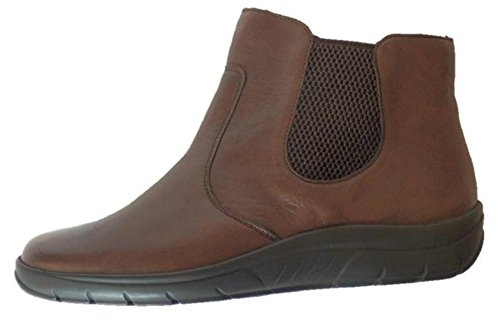 Chelsea Boot Semler Pelle Wide H Brown (33,5)