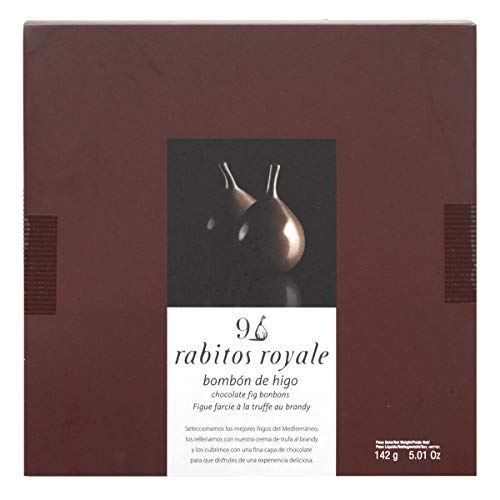 La Higuera Rabitos Royale Bonbon de Feigen mit Schokoladenüberzug, 9 Stück (142 g