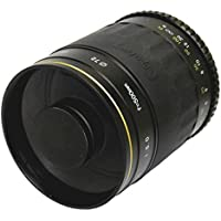 Opteka 500mm f/8 High Definition Telephoto Mirror Lens for Olympus EVOLT E-1, E-3, E-5, E-30, E-300, E-330, E-410, E-420, E-450, E-500, E-510, E-520, E-600, & E-620 Digital SLR Cameras