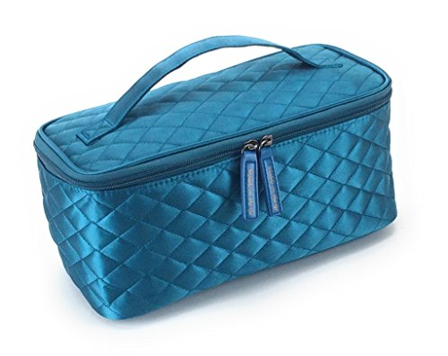 Cosmetic Bag by Models-on-the-Go Large Size - Teal ()