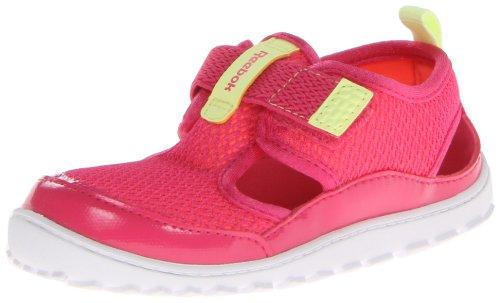 (Reebok Ventureflex Sandal (Infant/Toddler),Pink Fusion/Punch Pink/Lemon Zest/White,4 M US Toddler)