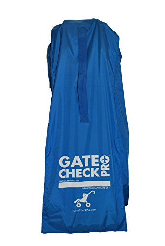 Gate Check PRO - Durable & Lightweight Stroller Travel Bag - Includes Ergonomic Shoulder Strap & Updated Closure for Ultimate comfort and Protection