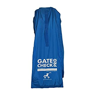 Gate Check PRO Stroller Bag For Airplane Travel - Durable & Lightweight - Ergonomic Shoulder Strap & Updated Closure for Comfort and Protection