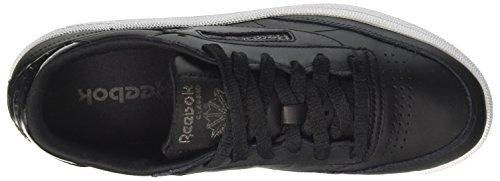 Chaussures De Gymnastique pearl Black Club C white ice Femme 85 Reebok Noir wq6tSCxI
