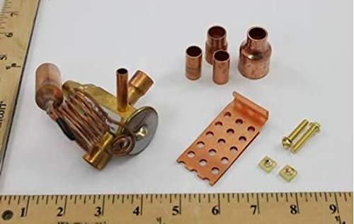 1//2x1//2 R-22 5Ton TXV; 30 inch Cap fit Rheem-Ruud