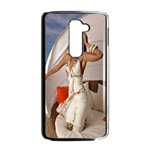 Custom Case Beyonce Knowles For LG G2 M7Z4Q2087