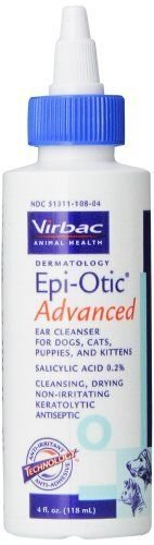 Virbac Epi Otic Advanced 4oz Ear Cleanser by Epi Otic Advanced
