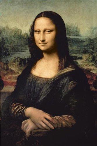 Leonardo DaVinci-Mona Lisa, Art Poster Print