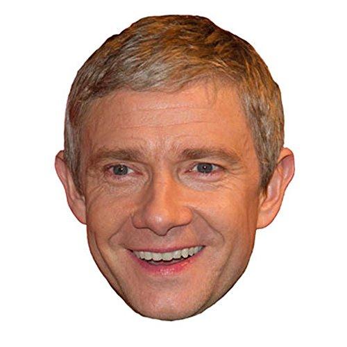 Martin Freeman Celebrity Mask, Card Face and Fancy Dress Mas